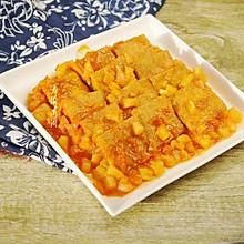 #花10分钟,做一道菜!#香煎冻豆腐