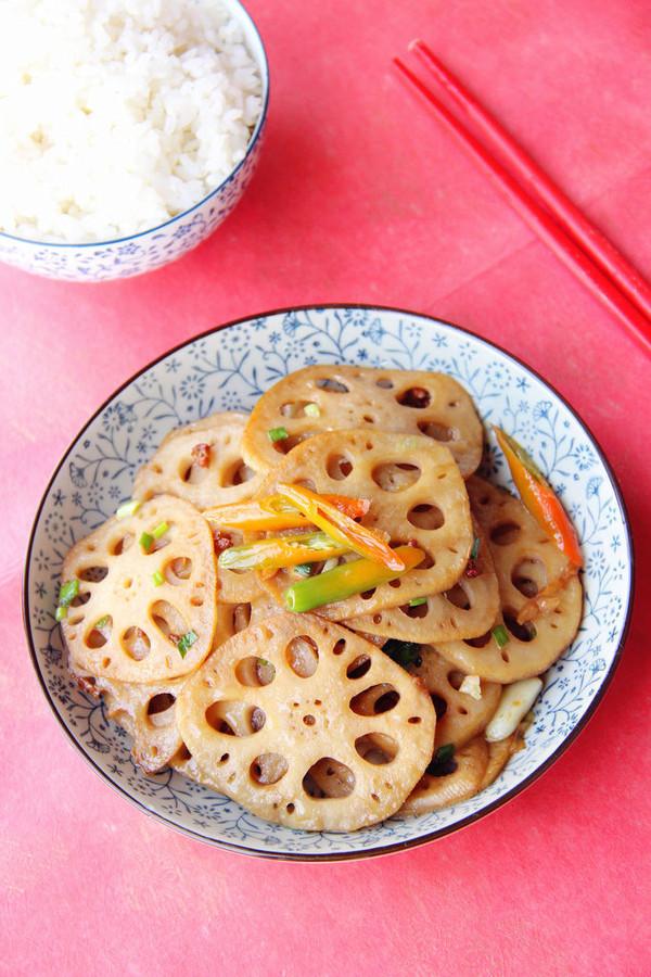 ·麻香糖醋藕·超级下饭的家常菜的做法