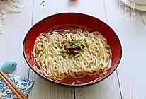 #秋天怎么吃# 快手面——家常清汤面的做法