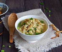 黄花菜鸡蛋汤的做法