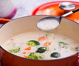 小羽私厨之奶油炖菜的做法