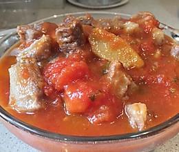 番茄牛腩的做法