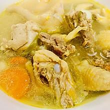 香菇鲜鸡汤
