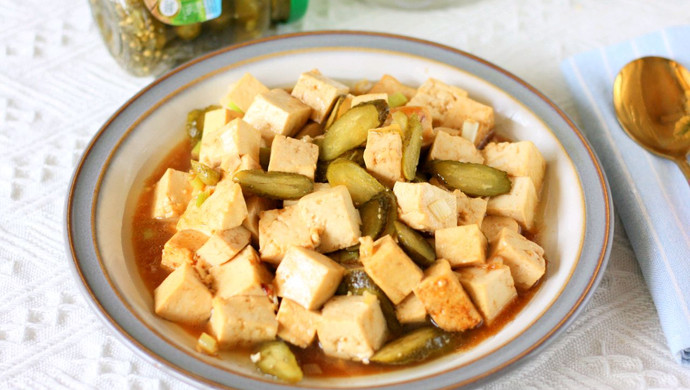 清爽青瓜豆腐