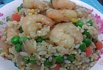 虾仁咖喱烩饭的做法