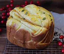 面包机版南瓜吐司的做法