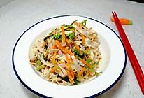#夏日开胃餐#丰富餐桌味~凉拌豆腐皮的做法