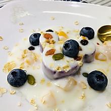 酸奶燕麦紫薯泥