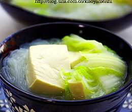 粉丝豆腐汤的做法