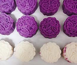 紫薯山药糕点的做法