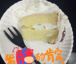 6寸奶油蛋糕的做法