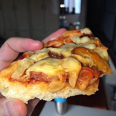 香肠披萨 微波炉版本