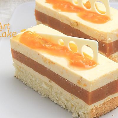 常用水果奶油制作 | 杏奶油蛋糕