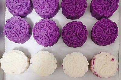 紫薯山药糕点