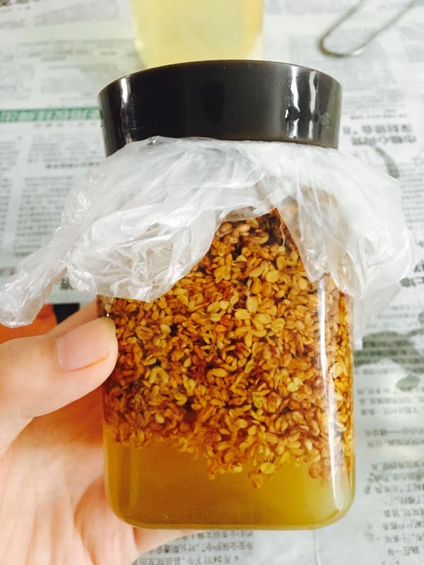 桂花酱的做法