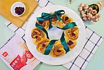 #我为奥运出食力#蔓越莓花环面包 向奥运健儿献礼的做法