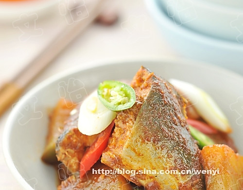 辣炖鲅鱼萝卜