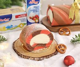 安佳黄油VS安佳稀奶油之圣诞蛋糕卷的做法