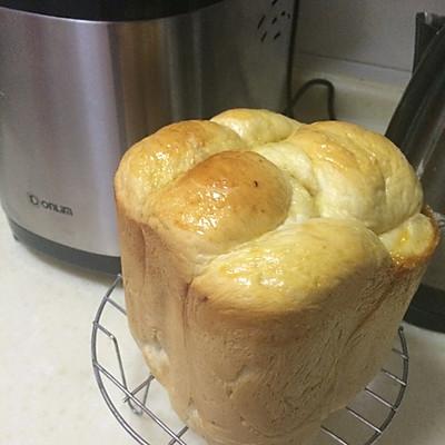 面包机制作软软面包—北海道手撕面包