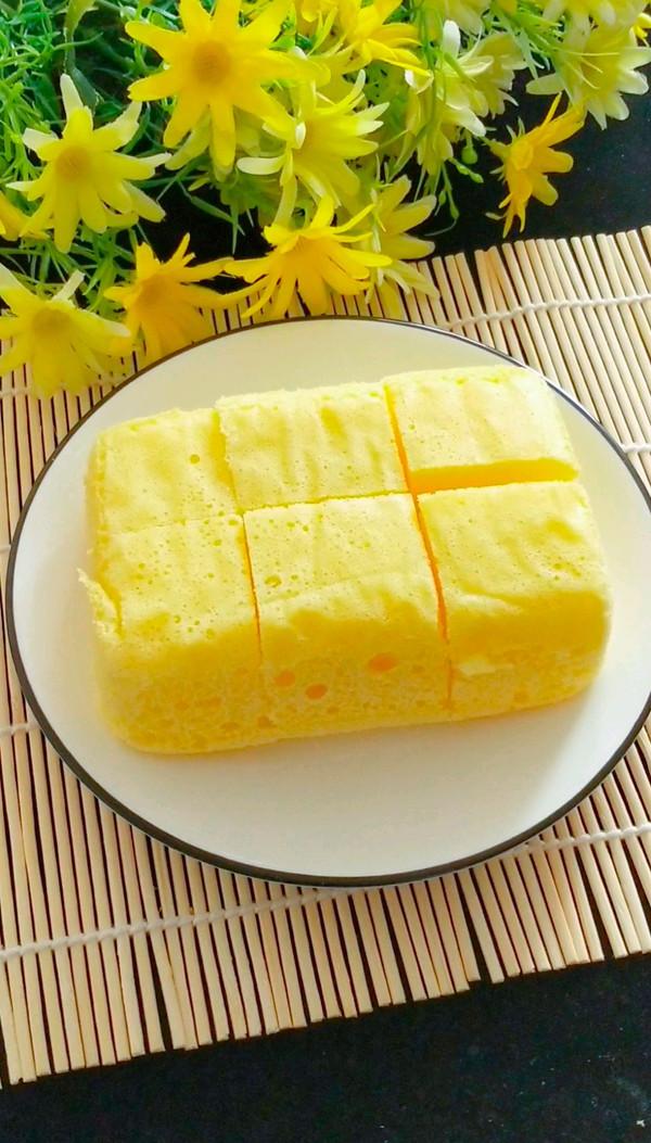 宝宝蒸蛋糕无油版 12+宝宝辅食