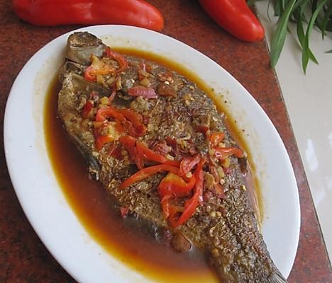 红油豆瓣武昌鱼的做法