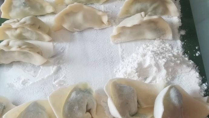 豪華韭菜餃子餛飩兩吃
