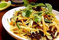 橄露Gallo经典特级初榨橄榄油试用之凉拌小碟的做法