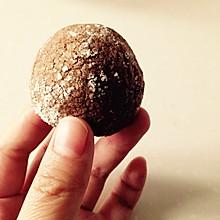 巧克力裂纹曲奇