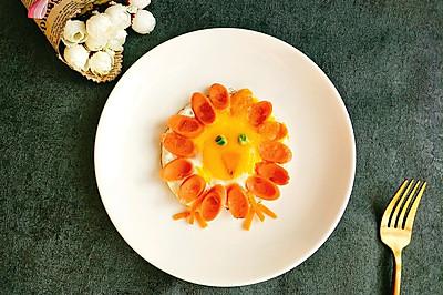 感恩节火鸡——火腿煎蛋