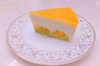 榴芒慕斯蛋糕8寸