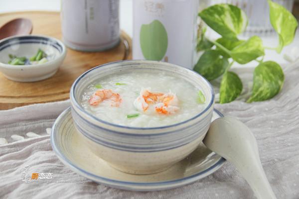 鲜虾芹菜粥的做法