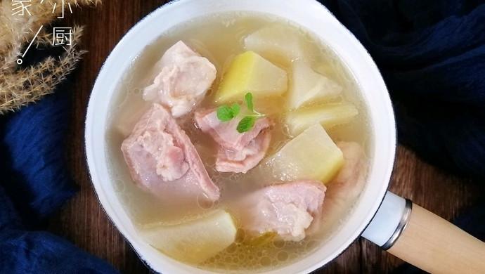 冬日御寒清炖萝卜羊肉汤
