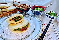 #换着花样吃早餐#腊汁肉夹馍的做法