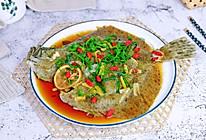 #憋在家里吃什么#清蒸多宝鱼的做法