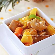 菠萝炒鸡丁