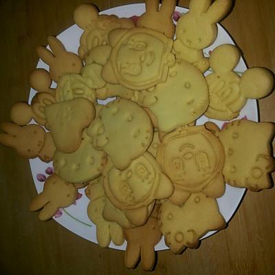 自烤卡通饼干