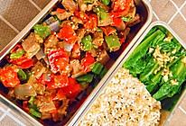彩椒牛肉低脂便当的做法