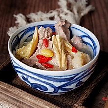白果马蹄腐竹排骨汤