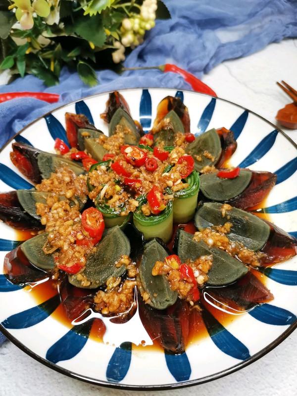 年夜饭菜单——满堂吉庆(老醋皮蛋)