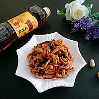 鱼香肉丝#金龙鱼外婆乡小榨菜籽油,我要上春碗#