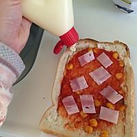煎蛋培根吐司的做法图解8