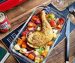 #营养小食光#法式烤鸡腿 皮脆肉嫩的窍门的做法