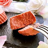 红曲芝士小蛋糕 #舌尖上的春宴#的做法图解15