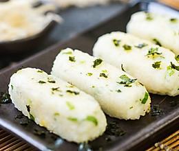 银鱼粢饭糕的做法