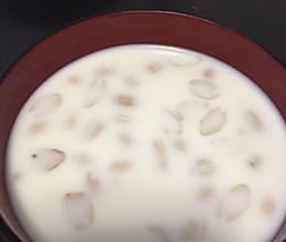花生牛奶汤的做法