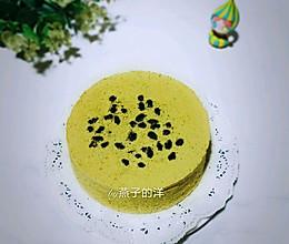 #好吃不上火#【蒸】抹茶蜜豆蒸蛋糕的做法