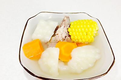 玉米胡萝卜苦瓜排骨汤
