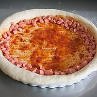巨无霸披萨#宜家让家更有味#的做法图解12
