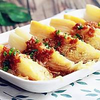 蒜蓉蒸金针菇娃娃菜#今天吃什么#的做法图解6