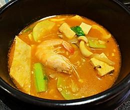 #我们约饭吧#炎炎夏日 也要喝热乎乎的韩式大酱汤的做法